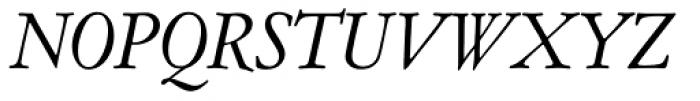 Garamont Amst EF Italic Font UPPERCASE