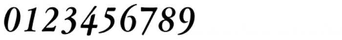Garamont Amst EF Med Italic Font OTHER CHARS