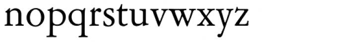Garamont Amst EF Roman Font LOWERCASE