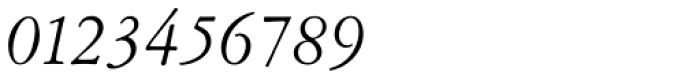 Garamont Amst SB Italic Font OTHER CHARS