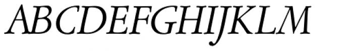 Garamont Amst SB Italic Font UPPERCASE