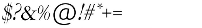 Garamont Amst SH Italic Font OTHER CHARS