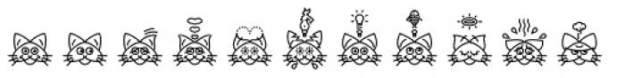 GarciaToons Cat Font UPPERCASE