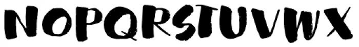 Garden Bed Font UPPERCASE