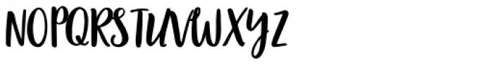 Garden Collection Pro D Font UPPERCASE