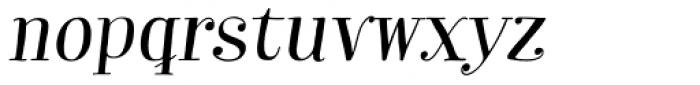 Garden Essential Alt Italic Font LOWERCASE