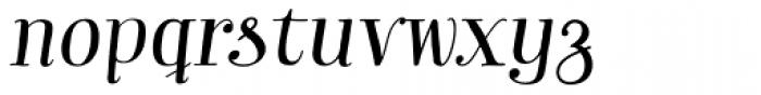 Garden Essential Italic Font LOWERCASE