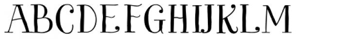 Garden Essential Font UPPERCASE