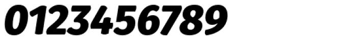 Gardenia Black Italic Font OTHER CHARS