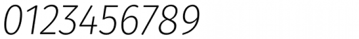 Gardenia Light Italic Font OTHER CHARS