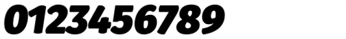 Gardenia UltraBlack Italic Font OTHER CHARS