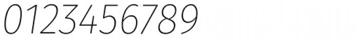 Gardenia UltraLight Italic Font OTHER CHARS