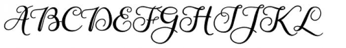 Gardeny Font UPPERCASE