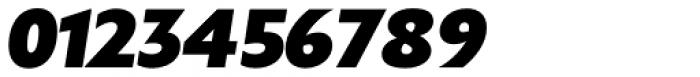 Gardner Sans Mammoth Italic Font OTHER CHARS