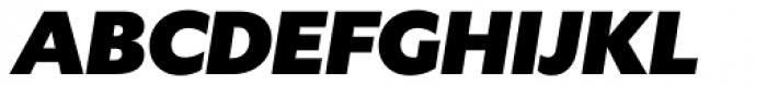 Gardner Sans Mammoth Italic Font UPPERCASE