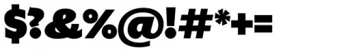 Gardner Sans Mammoth Font OTHER CHARS