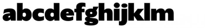 Gardner Sans Mammoth Font LOWERCASE