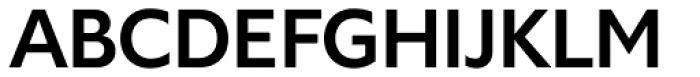 Gardner Sans Medium Font UPPERCASE