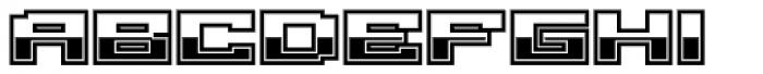 Gargantua BTN Chrome Font LOWERCASE