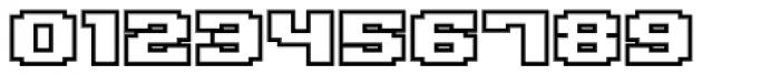 Gargantua BTN Outline Font OTHER CHARS