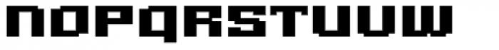 Gargantua BTN Font UPPERCASE