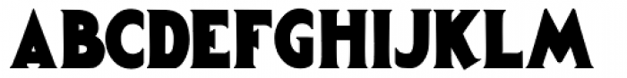 Gargantua Font UPPERCASE