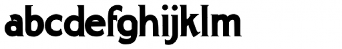 Gargantua Font LOWERCASE