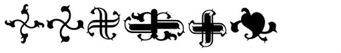 Gargoil ICG Ornaments Font UPPERCASE
