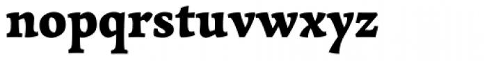 Garibaldi Black Font LOWERCASE