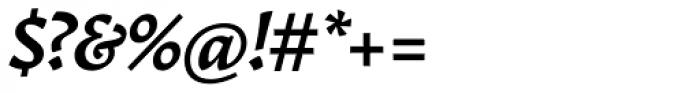 Garibaldi Bold Italic Font OTHER CHARS