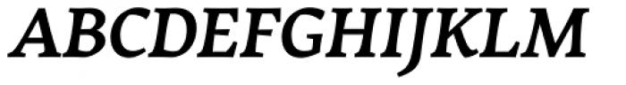 Garibaldi Bold Italic Font UPPERCASE