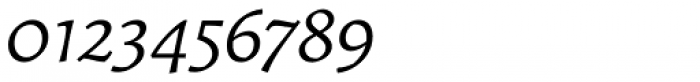 Garibaldi Italic Font OTHER CHARS