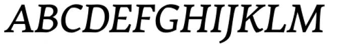 Garibaldi Medium Italic Font UPPERCASE