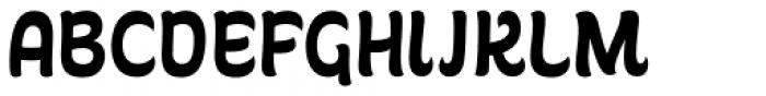 Garita Regular Font UPPERCASE