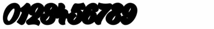 Garlandia Script Extrude Font OTHER CHARS
