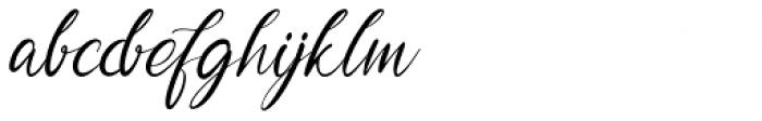 Garlando Regular Font LOWERCASE