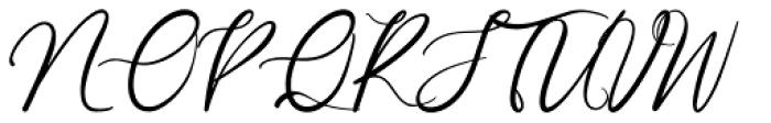 Garlando Signature Font UPPERCASE