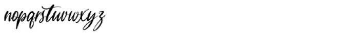 Garlando Signature Font LOWERCASE