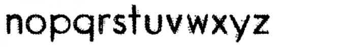 Garnet Euro Typewriter Font LOWERCASE