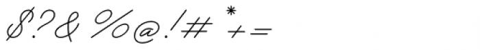 Garnet Script Font OTHER CHARS