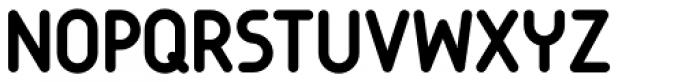 Garoa Medium Font UPPERCASE