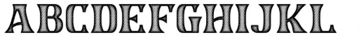 Garstang Engraved Font UPPERCASE