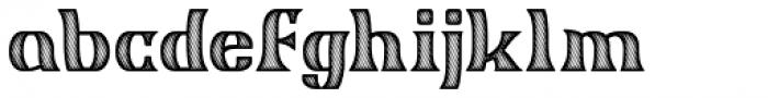 Garstang Engraved Font LOWERCASE