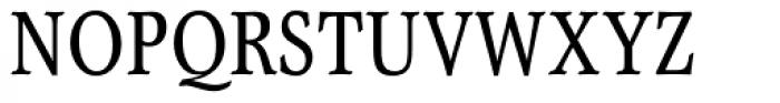 Garth Graphic Condensed Font UPPERCASE