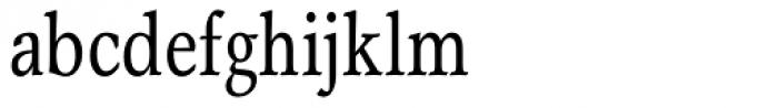 Garth Graphic Condensed Font LOWERCASE