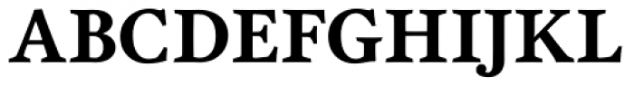 Garvis Pro Bold Font UPPERCASE