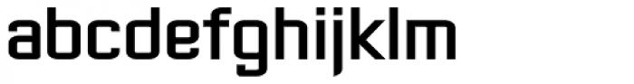 Gasoline Sans BTN Bold Font LOWERCASE