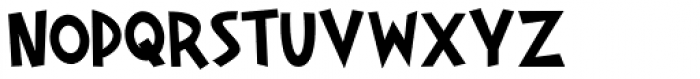 Gaspa Bold Font UPPERCASE