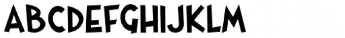 Gaspa Bold Font LOWERCASE