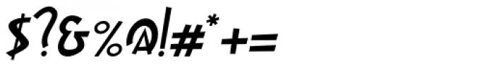 Gaspa Italic Font OTHER CHARS